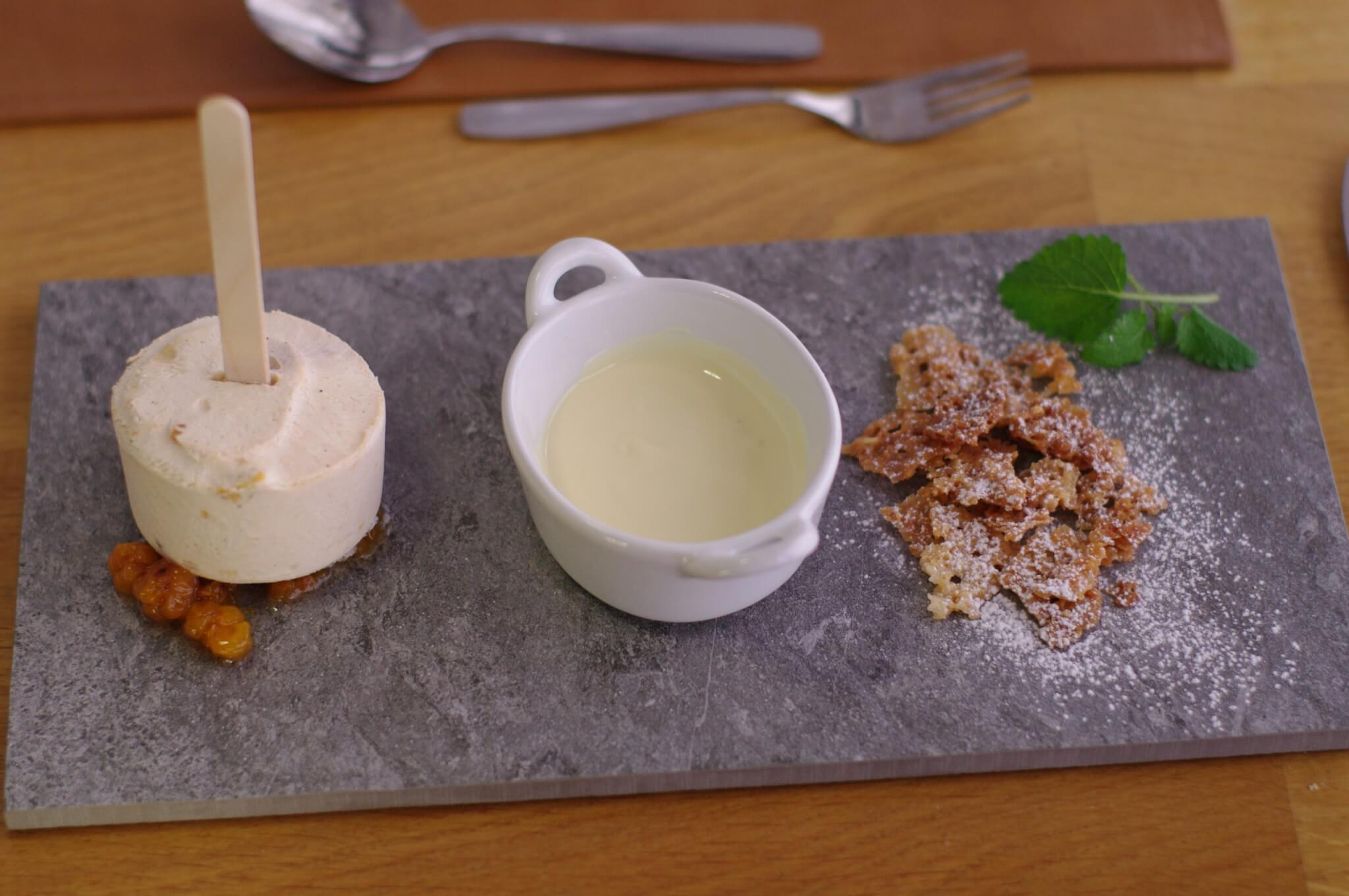 Hjortron Parfait - Dessert