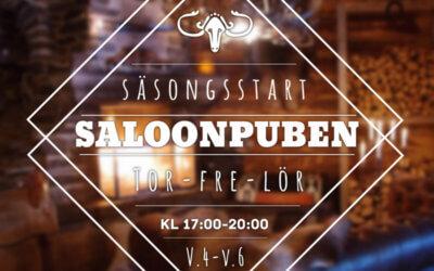 Äntligen öppnar Saloonen!